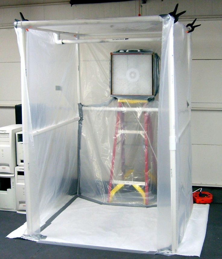 create a paint booth in your garage spray tan booth