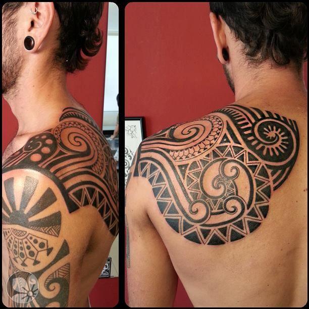 [www.tattoou.co.il :טאטו יו - כל מה שרצית לדעת על קעקועים] --- #Polynesian #tattoo קעקוע מאורי