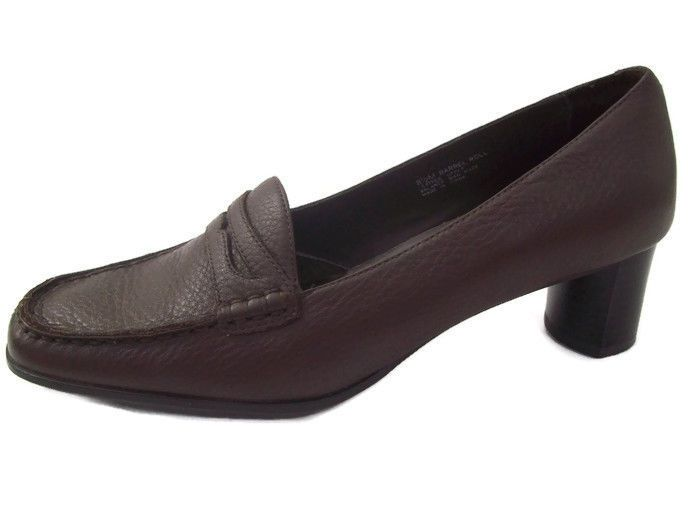 Whats What Aerosoles Barrel Roll Womens Loafers Brown Shoes Career Casual 8.5M #Aerosoles #Loafers #WeartoWork