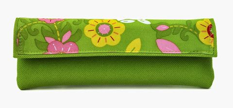 Floral/Lime EpiPen Carrying Case – EpiKIDS