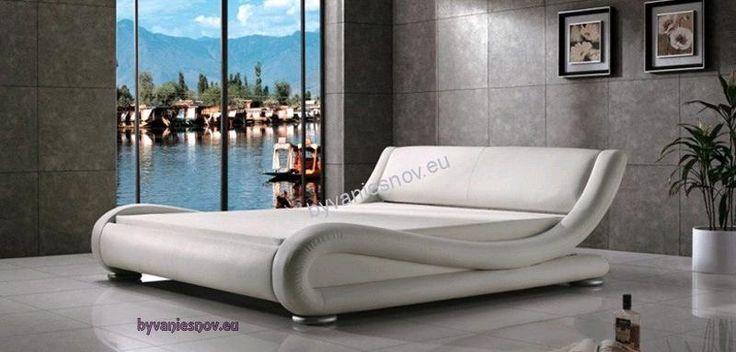 Luxusné postele | Posteľ Whitney | Kožené sedacie súpravy a postele