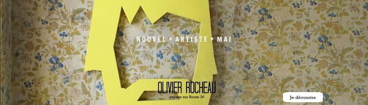 Un nouvel artiste expose sur Room 30: Olivier Rocheau