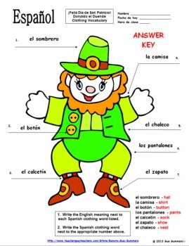 11 best images about Spanish St. Patrick's Day on Pinterest