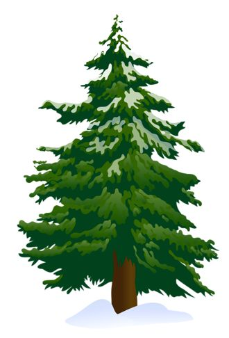 Tree clip art snowy pine tree clipart 4 clipartbold clipartcow