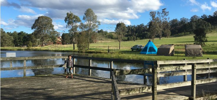 camping at clumsy hill farm
