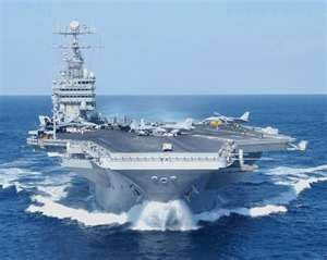 USS Nimitz, aircraft carrier my brother is stationed on, xxo