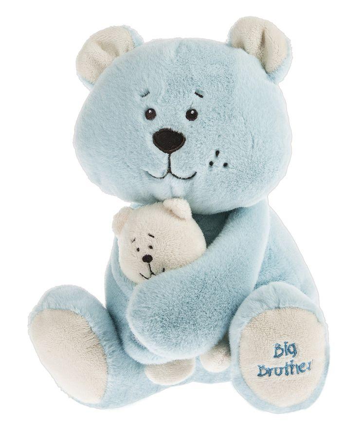 "14"" Big Brother Bear Plush Toy by GANZ #zulily #zulilyfinds"