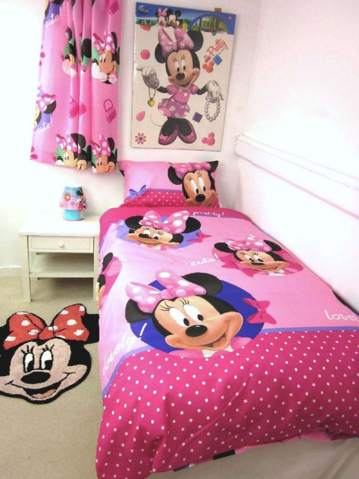 17 best images about peyton 39 s room on pinterest disney twin bedding sets and walmart - Mini mouse bedroom ...