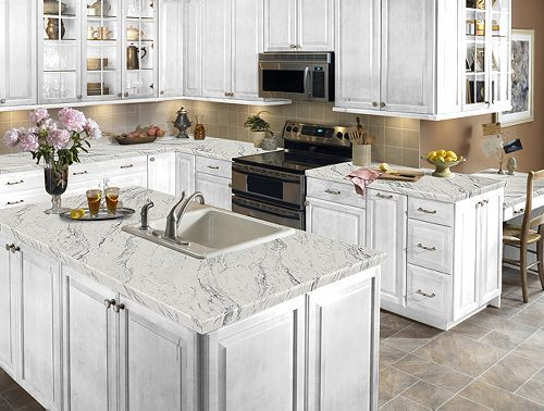 Calcutta marble laminate for the kitchen 14 sq ft for Kitchen countertop planner
