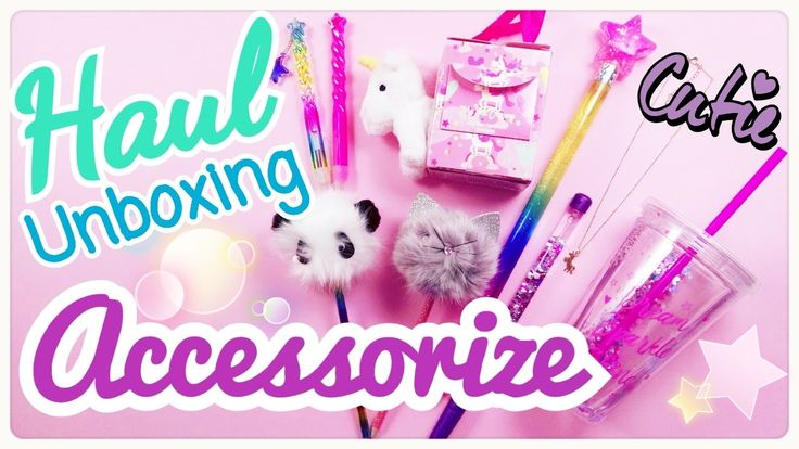 Unbox - Haul Acquisti Accessorize