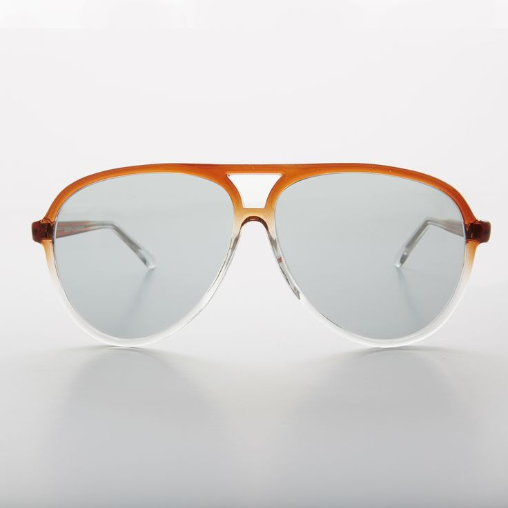 80s Transition Lens Aviator Vintage Sunglass with Corning Glass Lens - Birdy