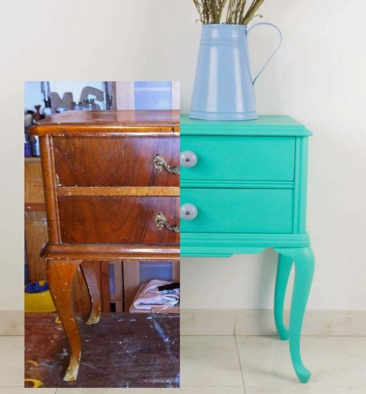 M s de 10 ideas fant sticas sobre muebles de pintura de - Muebles vintage sevilla ...