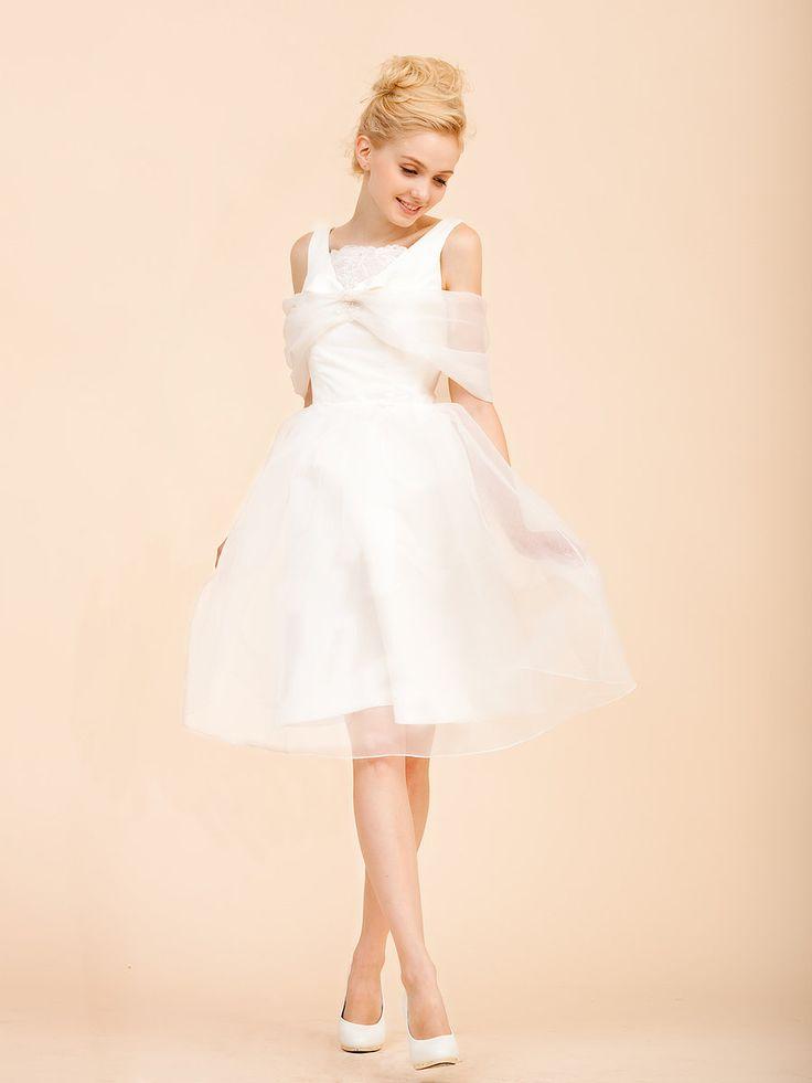 20 erstaunliche kurze Brautkleider