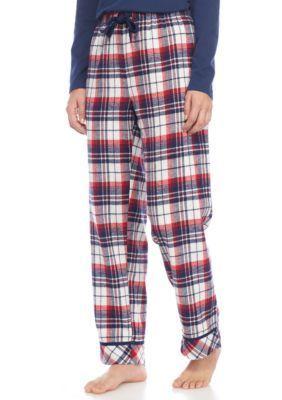 Jockey  Plaid Flannel Pajama Pant