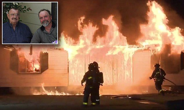 Texas shooting victim's family lose home in house fire   Daily Mail Online