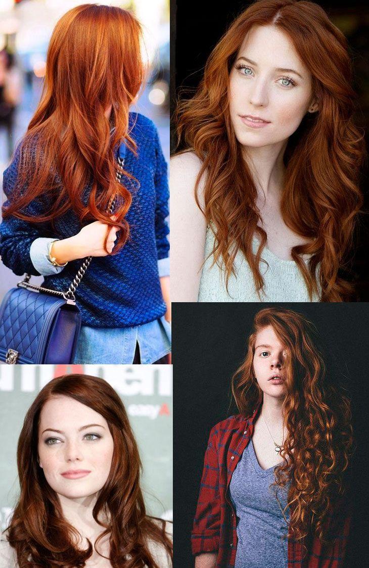 cabelo ruivo cores para inspirar                                                                                                                                                                                 Mais
