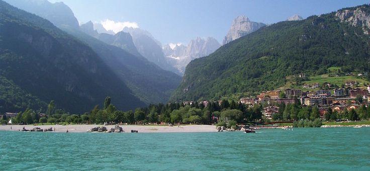 Itinerario in moto sulle Dolomiti di Brenta