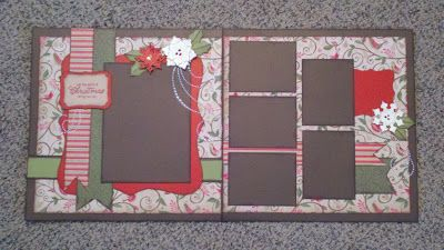 Two Page Layout...Christmas