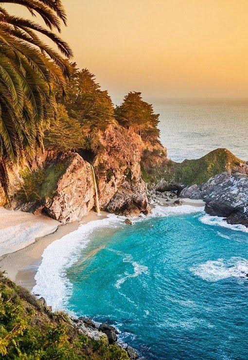 McWay Falls at Big Sur ,USA - Travel Pedia