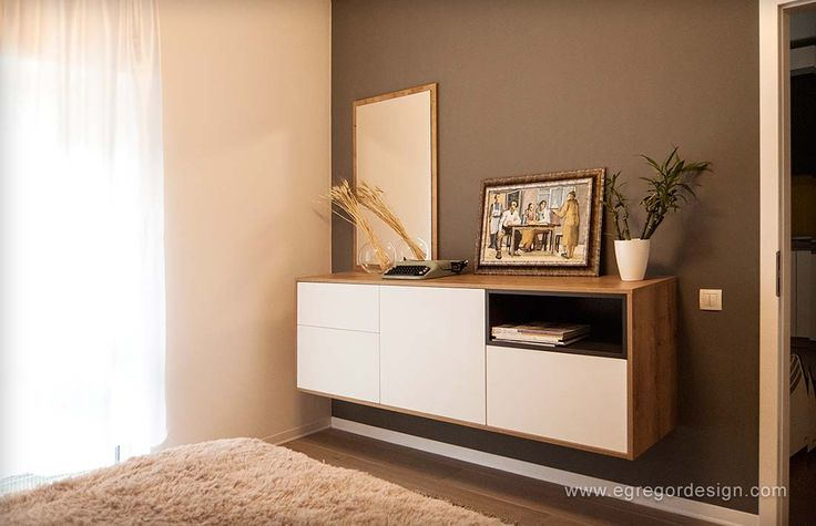 amenajare si mobilare apartament cu doua camere corp suspendat dormitor la comanda cluj