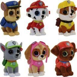 Amazon.com  TY Mini Boo Figures - PAW PATROL - Complete set of 6  Toys    Games fcde3df3109