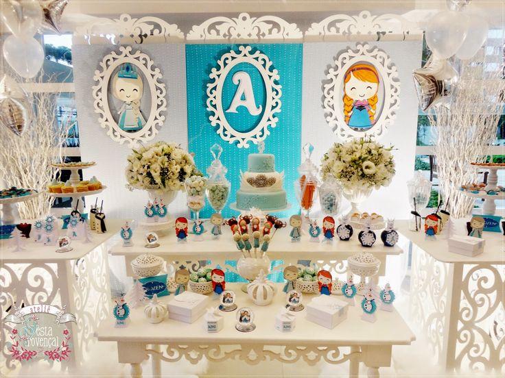 Ateliê Festa Provençal: Anna e Elza e Olaf