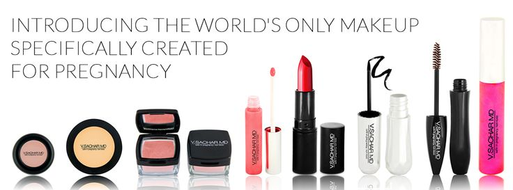 The first makeup just for Pregnancy!!  Safe, and Non-toxic for you and your baby!
