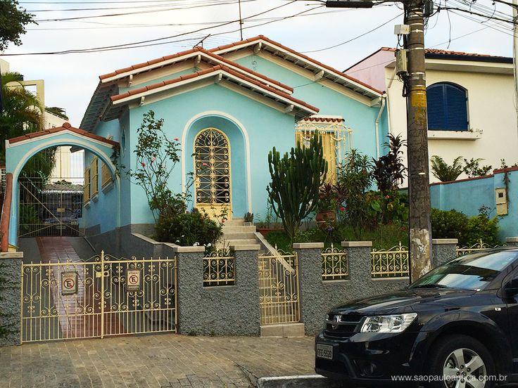 Casa na Rua Harmonia - Vila Madalena. Sao Paulo Antiga.
