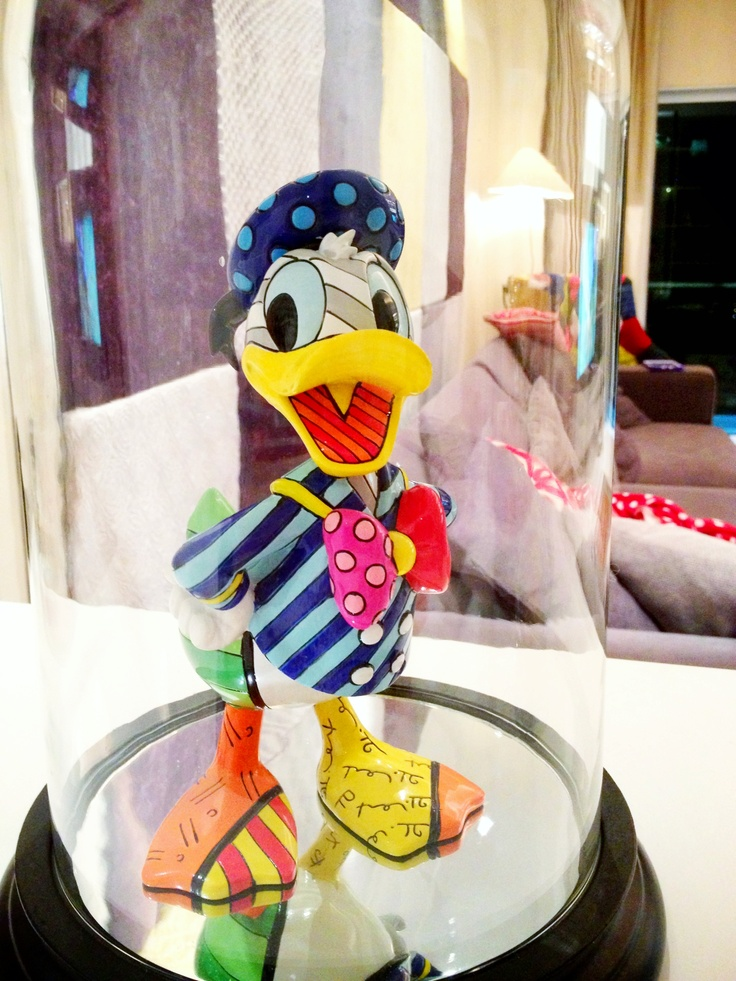 Donald Duck by Britto