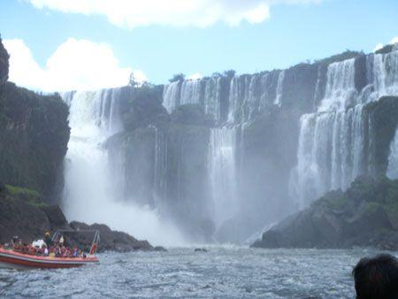 Cataratas de Iguazú, Iguazú, Brasil.
