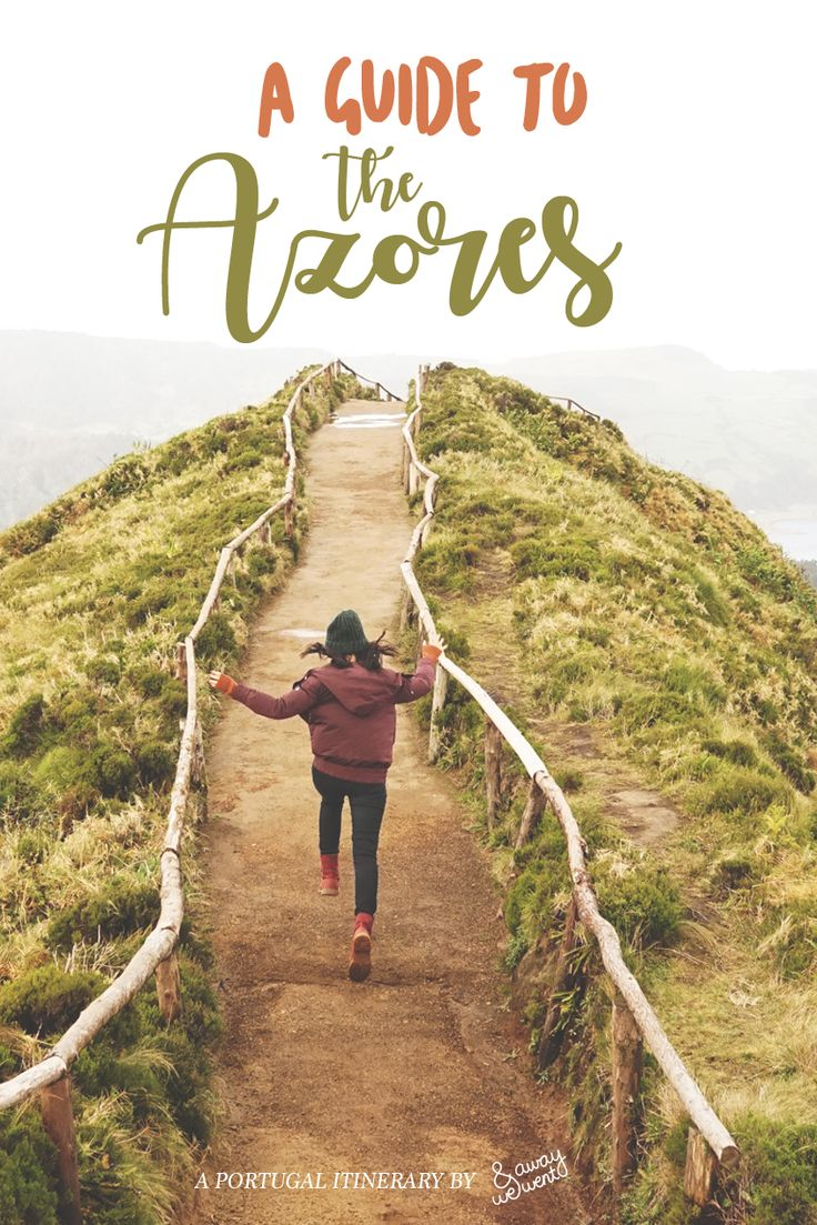 A Guide to Portugal's #Azores Islands. A 4-day itinerary on the São Miguel island during the off-season. #Wanderlust #Travel
