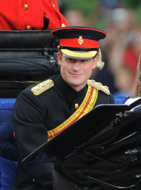 Prince Harry attends The Trooping the Colour ceremony to mark the Queen's official birthday, 14.06.2014