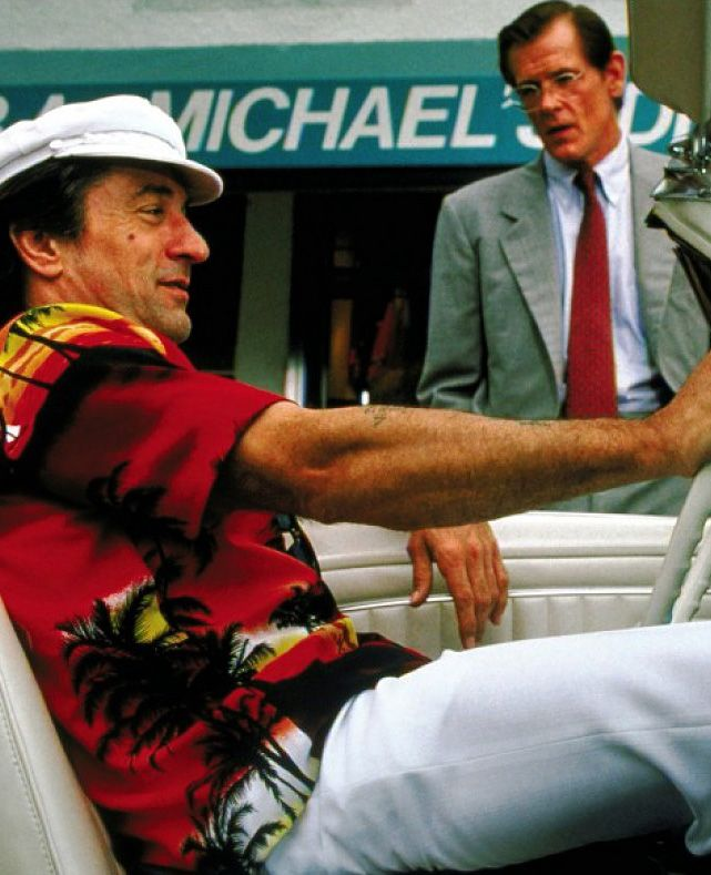 Robert De Niro & Nick Nolte in Cape Fear - one of the best remakes ever made