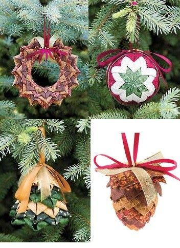 How to make an easy no-sew Christmas ornament