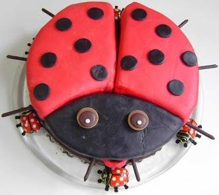 Marienkäfer-Torte