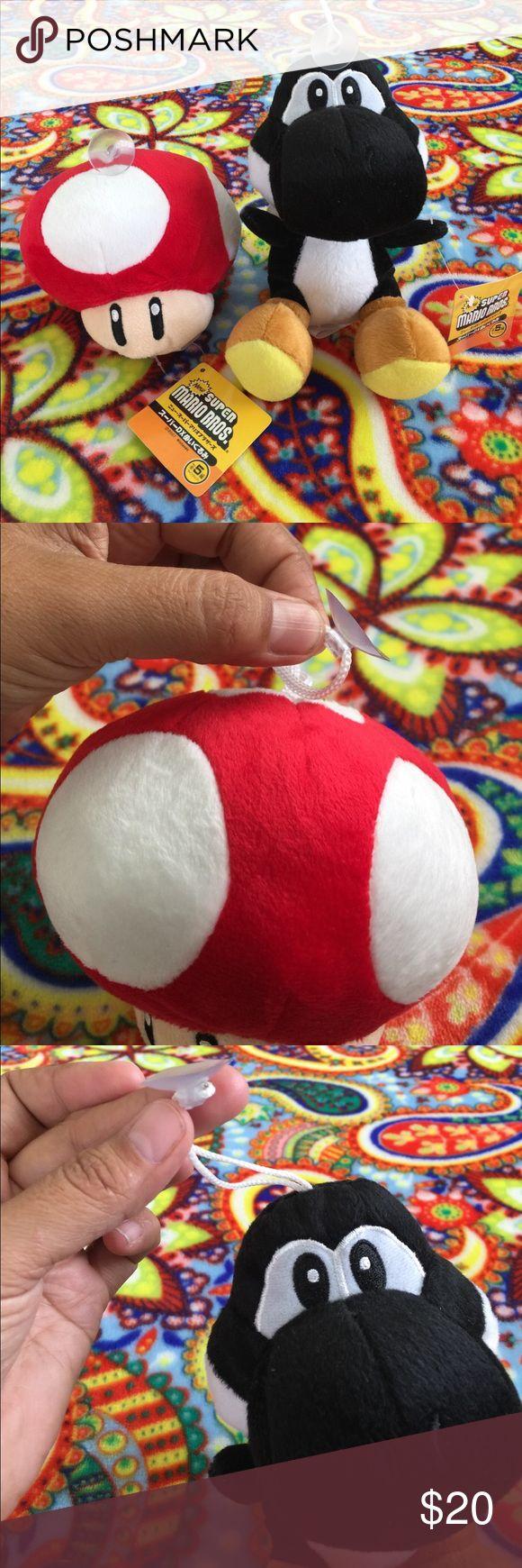 Nintendo Super Mario Bros Plush Toy LOT Yoshi NEW Boutique