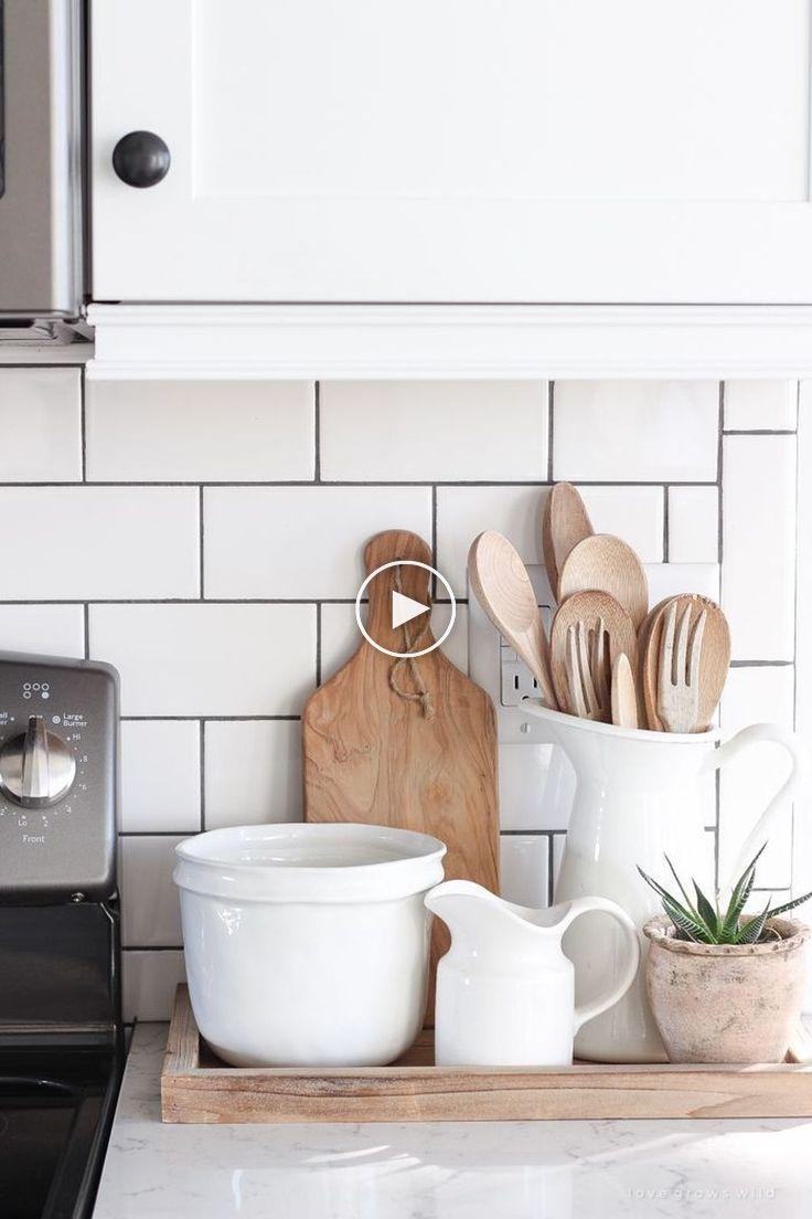 12+ idées de décoration de cuisine élégante   Décoration de ...