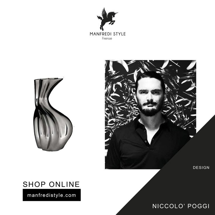 Discover Niccolò Poggi creations on manfredistyle.com