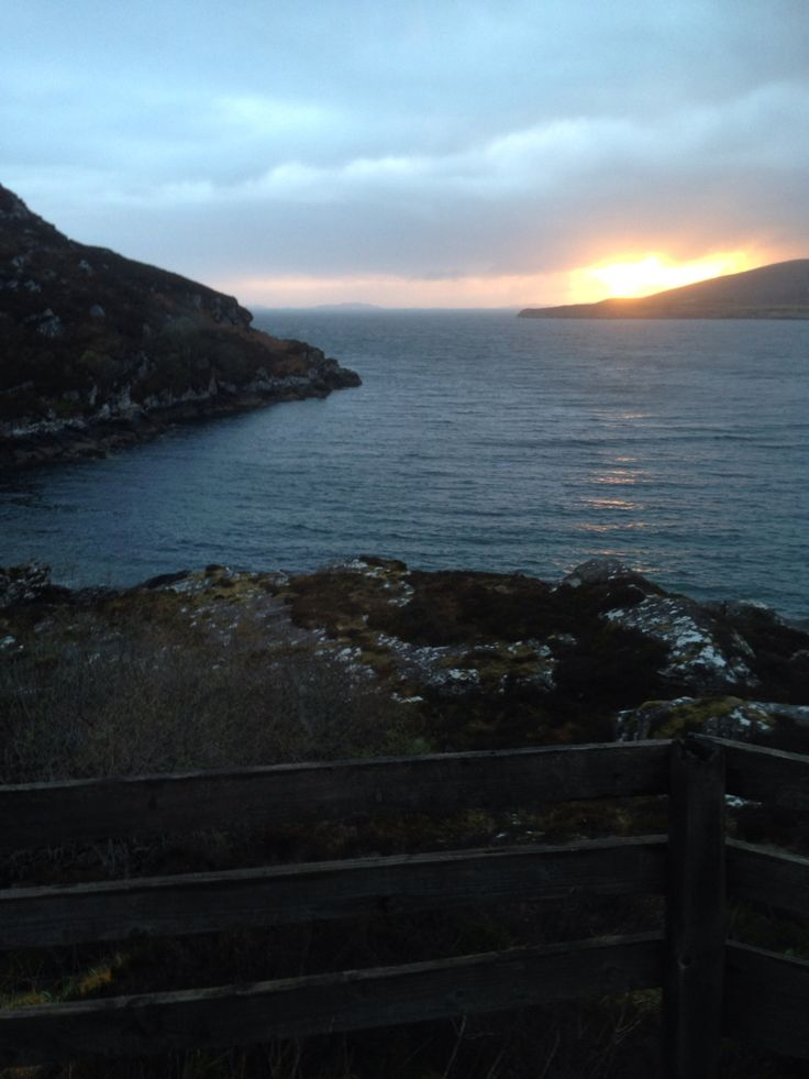 Another stunning sunset at Ardmair Bay, wester Ross.