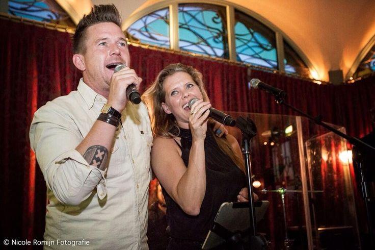 """""""@HetVergetenKind: Dankjewel Johnny & Babette voor jullie hartverwarmende optredens bij bedankdiner """" graag gedaan!!!"""