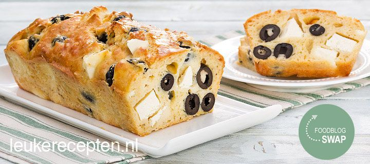 foodblogswap augustus 2013: feta olijven cake