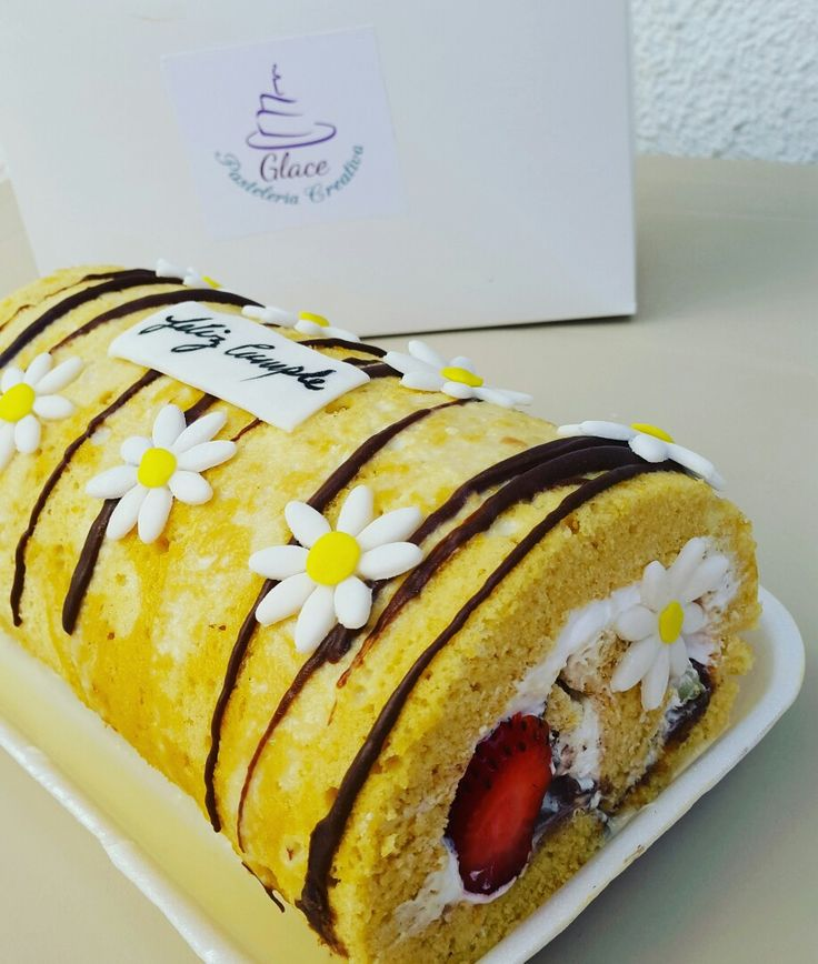 Roll cake natural
