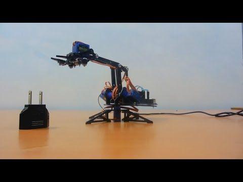 Arduino Robot Arm - YouTube