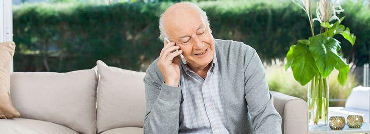 Los teléfonos móviles y las urgencias en el cuidado de los mayores