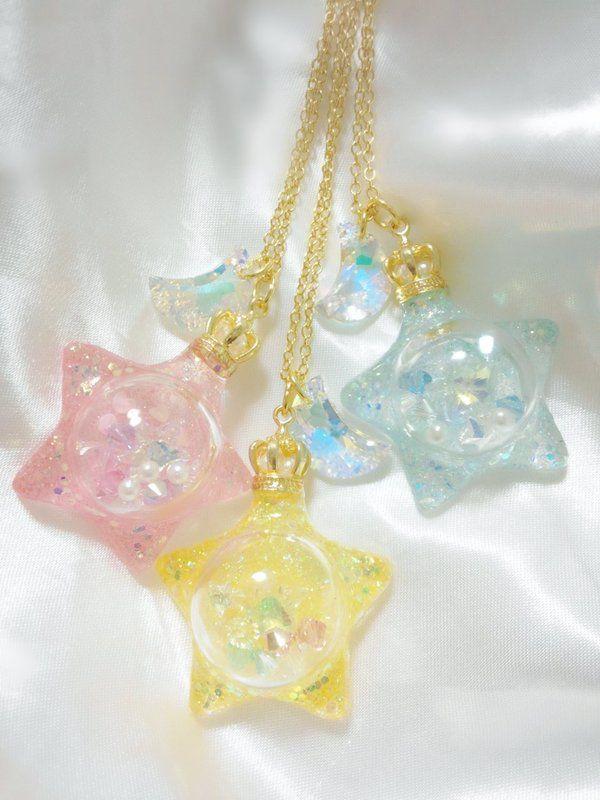 Cute star charms
