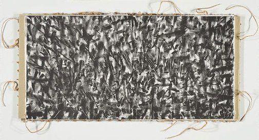 'Traversare I' (1993) by Australian artist Petr Herel (b.1943) and Polish-born Australian artist Allan Mitelman (b.1946). Artist's book. via Art Gallery NSW