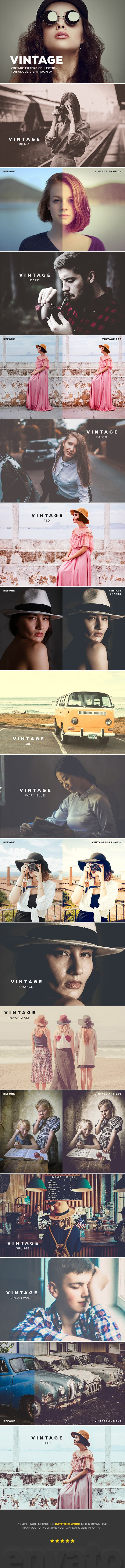 Vintage  Lightroom Presets  #portrait #vintage presets • Download ➝ https://graphicriver.net/item/vintage-lightroom-presets/18516136?ref=pxcr