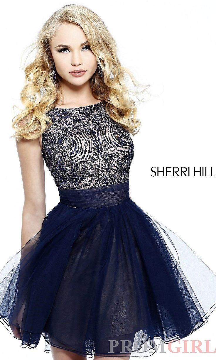 Prom Dresses, Celebrity Dresses, Sexy Evening Gowns at PromGirl: Sherri Hill Dress 11032