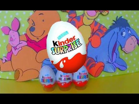 Kinder surprise eggs unboxing surprise eggs