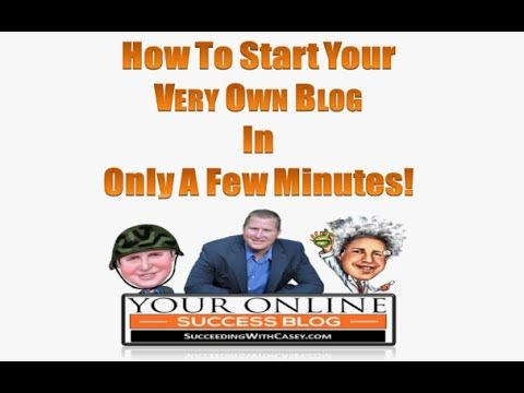 Best Site To Start A Blog - YouTube